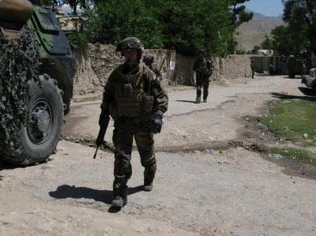 Afghanistan, zone rouge